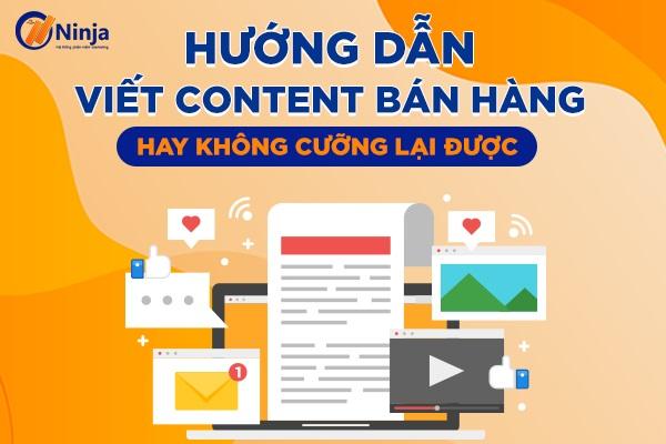 hướng dẫn viết content bán hàng